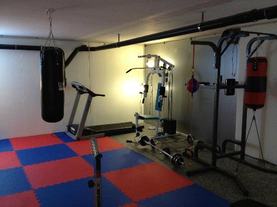 Hotel Alpenhof : Fitness