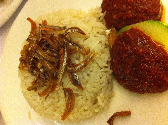 Wok & Barrel: Fragrant nasi (coconut rice)