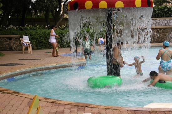Fariyas Resort Lonavala: The Water Mashroom at the outdoor pool area