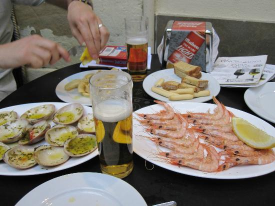 Bodegas Quitapenas: Fresh and flavoursome seafood