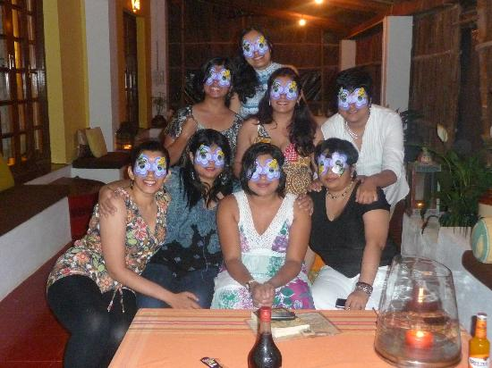 Turiya Villa and Spa: Party Time