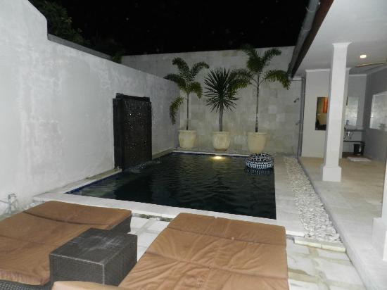 Kuta Regency Villa (B10): view from living area to pool