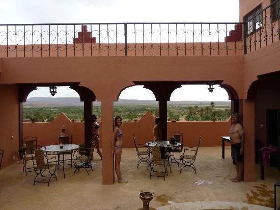 Riad Pegase: patio