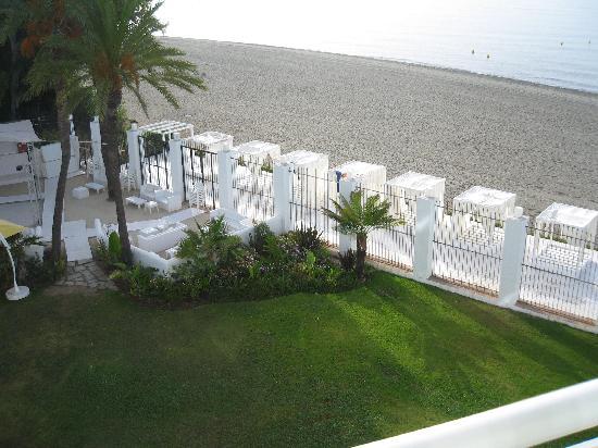 Nouvelles Frontieres Hotel-Club Costa del Sol : Vue depuis notre balcon