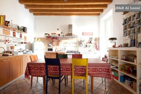 Ai Leoni: cucina