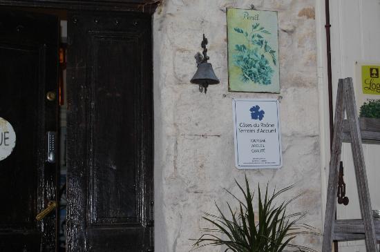 Auberge de l'Orangerie : Entrance