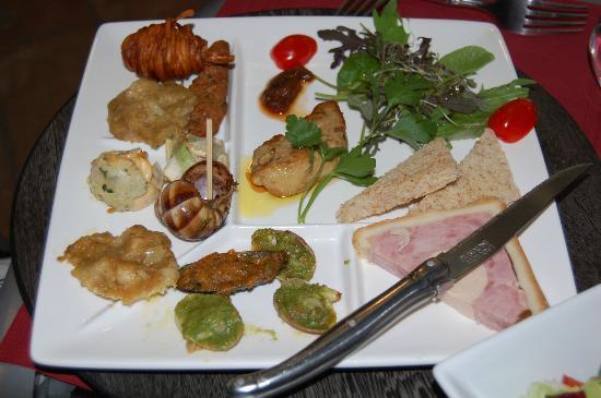 Auberge de l'Orangerie : Dinner