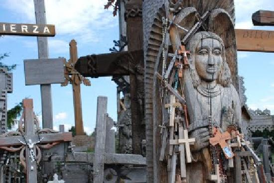 Siauliai, Lituanie : Hill of the Crosses, Lithuania