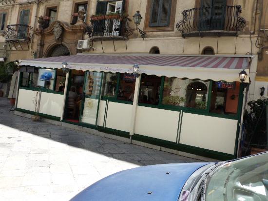 Außenansicht Ristorante Palazzo Trabucco