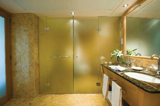 Constantinou Bros Asimina Suites Hotel: Asimina Suites Hotel - Shower and WC