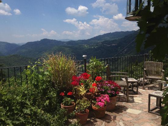 Settimo Cielo: outside terrace