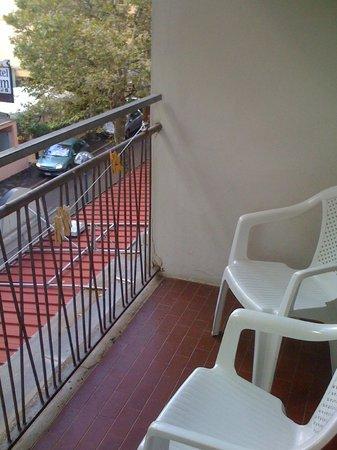 Hotel Freccia del Sud: balcone