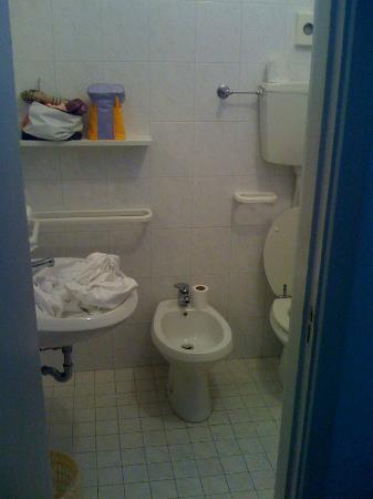 Hotel Freccia del Sud: bagno