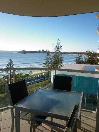 Malibu Mooloolaba Holiday Apartments : View from the right of our room