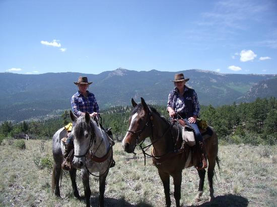 North Fork Ranch: up in the mountains