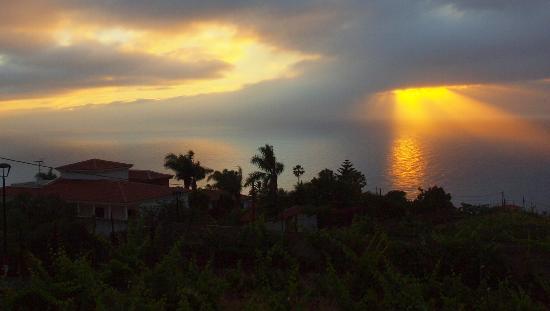 Residencial Rolando: Sonnenuntergang