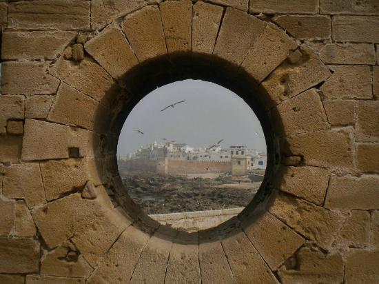 Essaouira Beach: Veduta di Essaouira