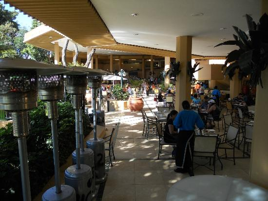 Cabanas, Sun City: Palm Terrace