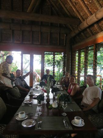 Namale Resort & Spa: Our friends' last breakfast