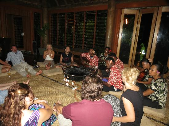 Namale the Fiji Islands Resort & Spa: Kava night was fantastic!