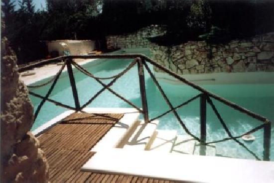 Il Carro e la Luna: la piscina