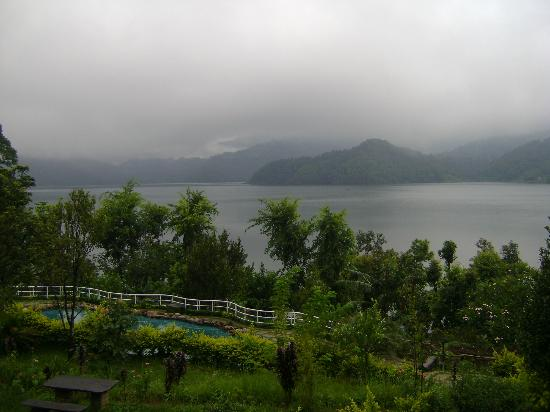 Begnas Lake Resort: view from the resort