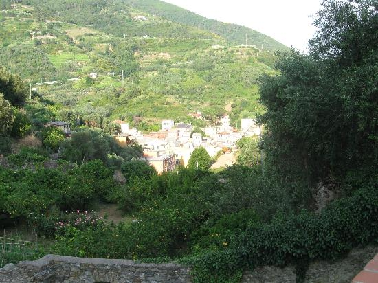 Buranco: A view of Monterosso's hill side