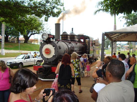 Passeio de Maria Fumaca Campinas - Jaguariuna: Estação em Jaguariuna