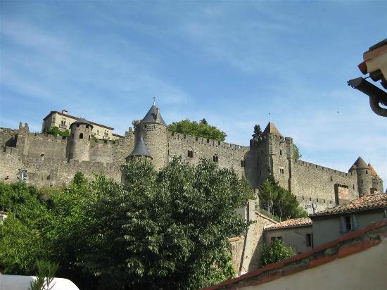 La Posada del Castillo B&B : Vue de la terrasse commune