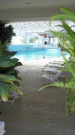 Giardini Termali Tropical: Indoor pool with hydromassage