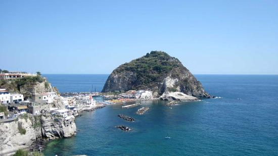 Giardini Termali Tropical: view of sant'angelo from Tropical