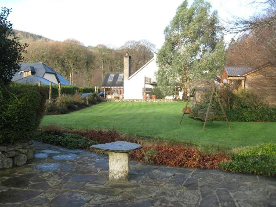 Tudor Lodge: View from the back of the lodge