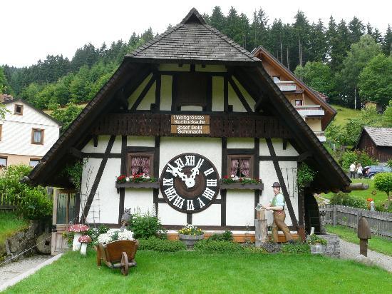Schonach - Orologio a cucu' piu' grande del mondo