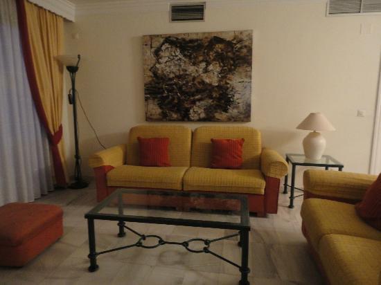 Club Jardines del Puerto : Living room