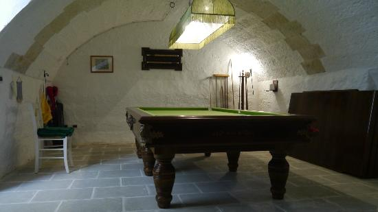 Antica Locanda Mirgio : sala giochi