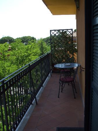 Hotel Villa San Pio: Room 522 balcony