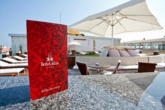 Klas Hotel: Pool Area