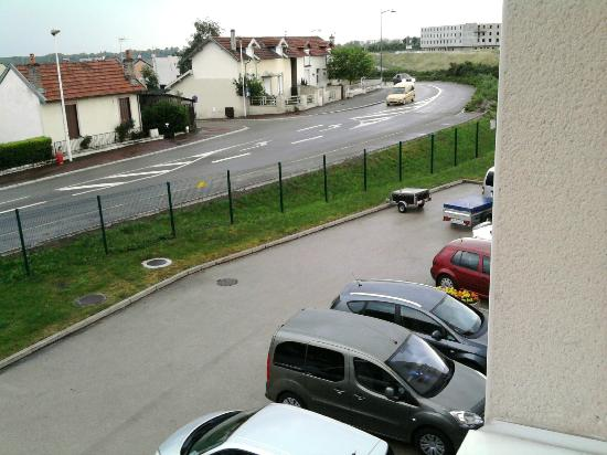 Ibis Budget Dijon Saint Apollinaire : view from my room