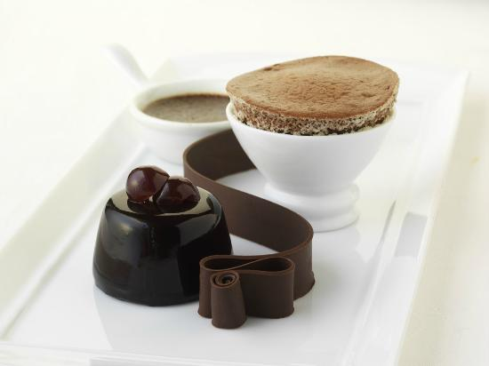 Inn at Little Washington: Menage a Trois of Chocolate