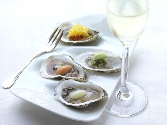 Inn at Little Washington: Oyster Slurpees