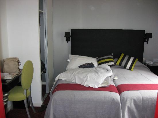 Hotel St-Martin : Zimmer