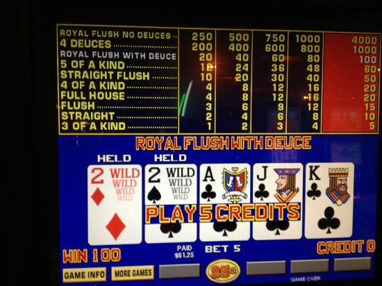 Seminole Hard Rock Hotel Tampa: Deuces Wild Play - July 5, 2012 