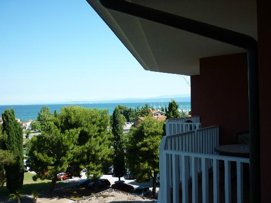 Изола, Словения: Havsutsikt mot Italien