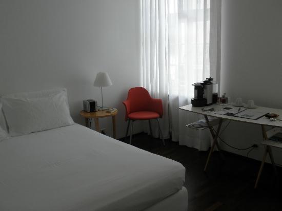 Der Teufelhof Basel: Room view