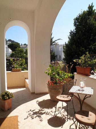 Villa Aida: ingresso