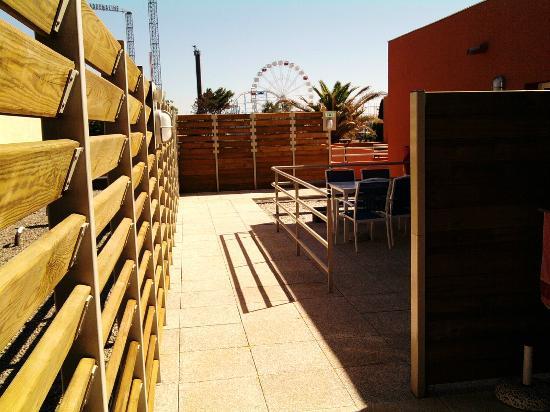 Le golf du Cap d'Agde : terrace next to my room