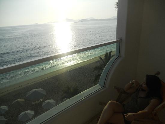 Hotelito Escondido Manzanillo: Vista desde habitacion