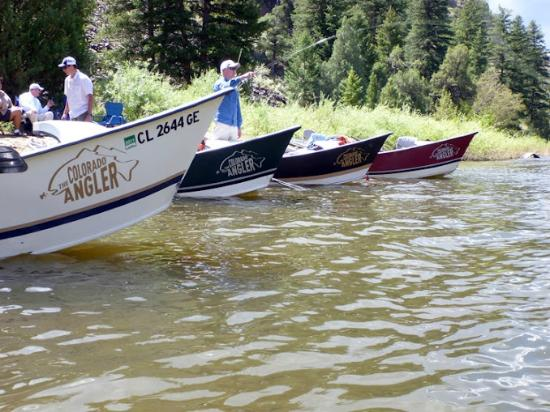 The Colorado Angler: Fly fishing guide service 7 days per week