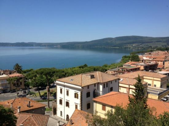 View of Trevignano from the ruins above the town - Foto di B&B La ...