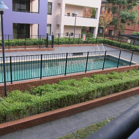 Waitara Waldorf Furnished Apartments: Apt 1209 facing the pool,